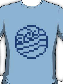 8bit Water Tribe Emblem 2 - 3nigma T-Shirt