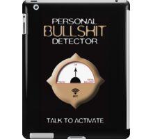 Personal Bullshit Detector iPad Case/Skin