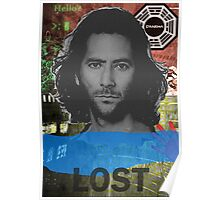 Desmond Hume LOST Poster