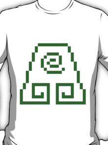 8bit Earth Kingdom Emblem 2 - 3nigma T-Shirt