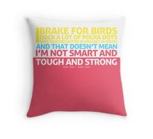 New Girl | Jess Quote Poster Throw Pillow