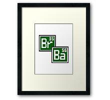 BrBa Framed Print