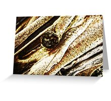 Earth Textures - Abstract Art by Sharon Cummings Greeting Card