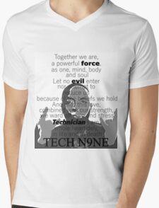 Tech N9ne  - The Pledge Mens V-Neck T-Shirt