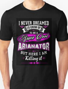 ariana grande i love my mom more cute arianator T-Shirt