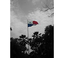 Panama Flag selective color Photographic Print