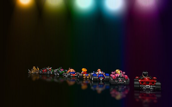 Street Racer pixel art by smurfted