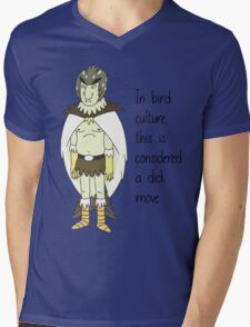 Birdperson Mens V-Neck T-Shirt
