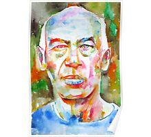 HENRY MILLER watercolor portrait.2 Poster