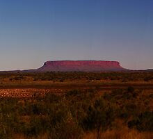 Mount Conner - Northern Territory Australia by Paul Gilbert