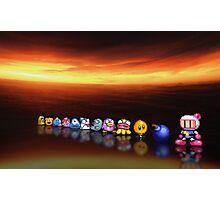 Bomberman - Panic Bomber B pixel art Photographic Print