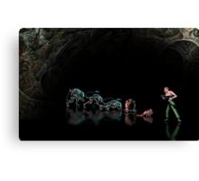 Alien 3 pixel art Canvas Print