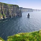 cliffs of moher scenic landscape seascape ireland by Noel Moore Up The Banner Photography