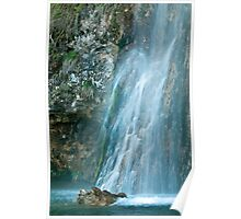Waterfall Plitvice National Park Croatia Poster
