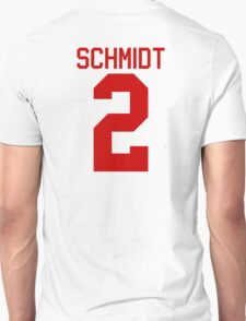 Kendall Schmidt jersey - red text T-Shirt