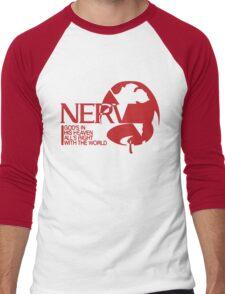 NERV Men's Baseball ¾ T-Shirt