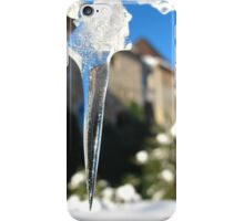 Ice point of view iPhone Case/Skin