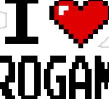 I LOVE RETROGAMING  Sticker
