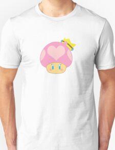 Princess Peach 1UP Mushroom  T-Shirt