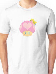 Princess Peach 1UP Mushroom  Unisex T-Shirt