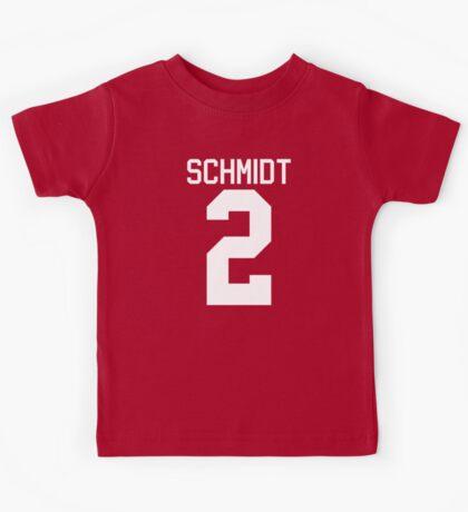 Kendall Schmidt jersey - white text Kids Tee