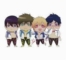 Free! group sticker by yoriuku