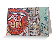 ACT UP! Greeting Card