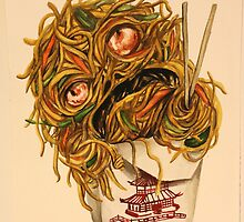 Wok Ness Monster by Emily Ryan