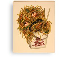 Wok Ness Monster Canvas Print