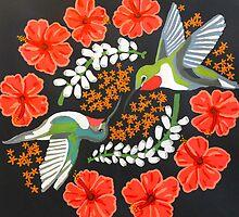Hummingbird Mandala by Emily Ryan