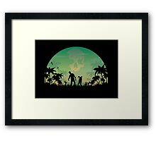 They're Coming! Framed Print