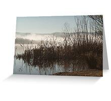 Lake Wallace, Wallerawang NSW Australi Greeting Card