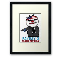 South Park PayDay Framed Print