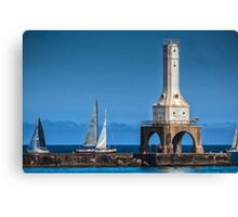 Sailboat Races Canvas Print