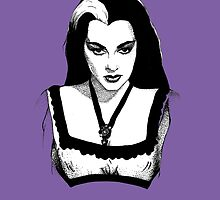 Lily Munster by BlackCultDesign