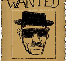 Wanted - Heisenberg by MajorMustachios
