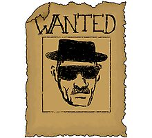 Wanted - Heisenberg Photographic Print