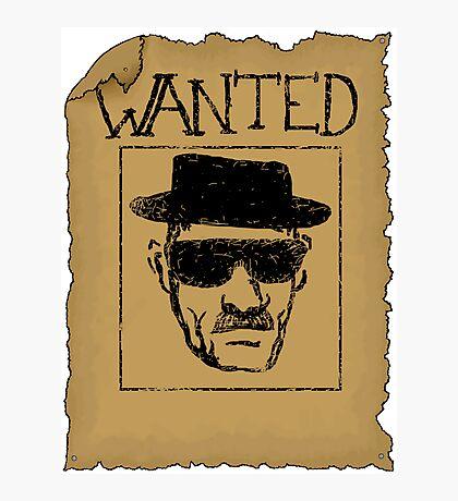 Wanted - Heisenberg Photographic Print