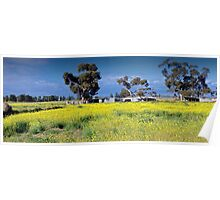 Australian Countryside Poster