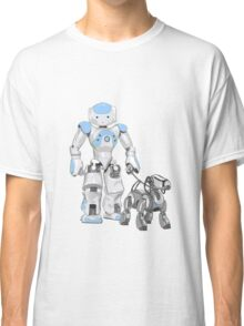 The Dog Walker. (Blue) Classic T-Shirt
