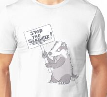 BADGER CULL PROTEST Unisex T-Shirt