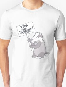 BADGER CULL PROTEST T-Shirt