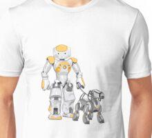 The Dog Walker (Orange) Unisex T-Shirt
