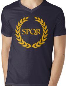 Camp Jupiter - SPQR Mens V-Neck T-Shirt