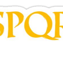 Camp Jupiter - SPQR Sticker