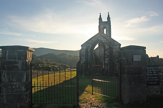 Dunlewey Church by Adrian McGlynn