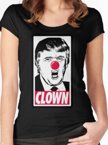 Trump - Clown Women's Fitted Scoop T-Shirt
