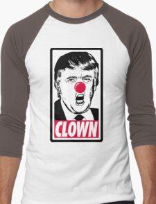 Trump - Clown Men's Baseball ¾ T-Shirt