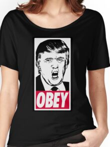 Trump - Obey Women's Relaxed Fit T-Shirt