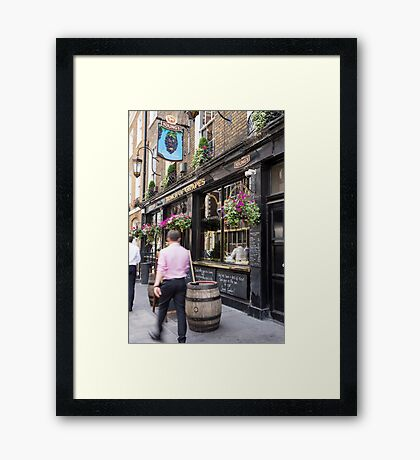 youngs pub Framed Print